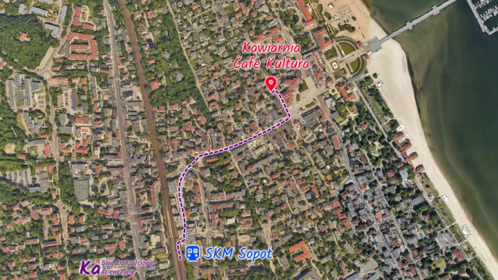 Mapa Cafe Kultura Sopot Google