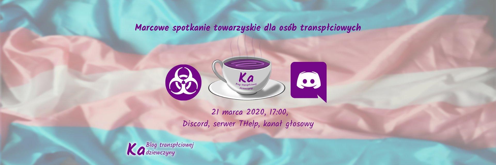Marcowe spotkanie towarzyskie 2020 - na Discord THelp